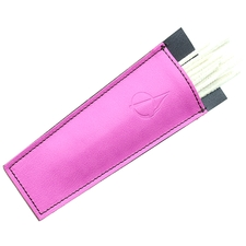 Pipe Accessories Claudio Albieri Leather Cleaners Holder Pink