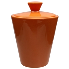 Pipe Accessories Savinelli Ceramic Tobacco Jar Orange