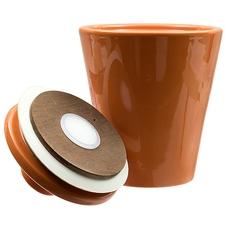 Tobacco Jars Savinelli Ceramic Tobacco Jar Orange