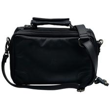 Pipe Accessories Claudio Albieri Italian Leather 4 Pipe Bag Black