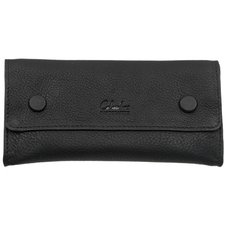 Pipe Accessories Columbus Small Snap Over Tobacco Pouch Black