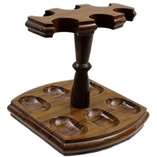 Pipe Accessories Woodmere 6 Pipe Stand Teak