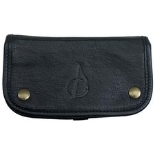 Stands & Pouches Claudio Albieri Italian Leather Tobacco Pouch Deluxe Black