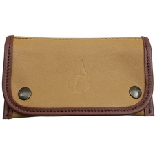 Pipe Accessories Claudio Albieri Italian Leather Tobacco Pouch Tan/Chestnut