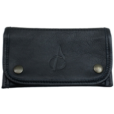 Pipe Accessories Claudio Albieri Italian Leather Tobacco Pouch Black