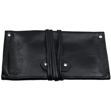 Pipe Accessories Black Folding 1 Pipe Pouch