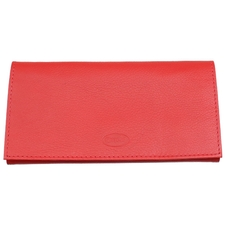 Pipe Accessories Chacom Leather Roll Up Pouch Red