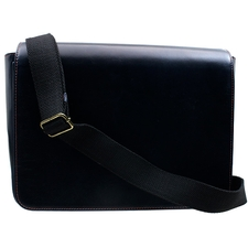 Pipe Accessories Erik Stokkebye 4th Generation Navy Blue Tobacco Pouch Messenger Bag
