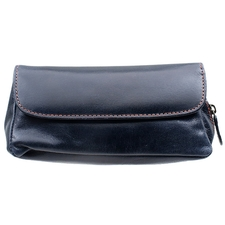 Pipe Accessories Erik Stokkebye 4th Generation 1 Pipe Combo Pouch Navy Blue