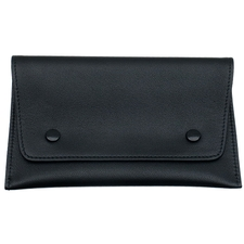 Pipe Accessories White Spot Button Pouch Black