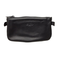 Pipe Accessories Savinelli Motif Oval Tobacco Pouch - Black