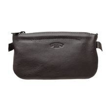 Pipe Accessories Savinelli Motif Oval Tobacco Pouch - Brown