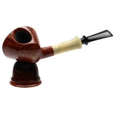 Pipe Accessories Abe Herbaugh Amber Magnetic Single Pipe Stand