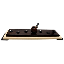 Pipe Accessories Neal Yarm 7 Pipe Stand Wenge and Maple