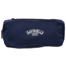 Pipe Accessories Savinelli Cloth 1 Pipe Combo Pouch Dark Blue