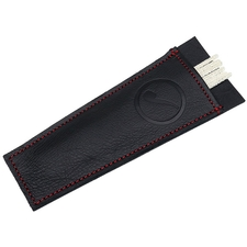 Stands & Pouches Claudio Albieri Smokingpipes Leather Cleaners Holder Black