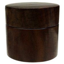 Pipe Accessories Scott Tinker Curly Claro Walnut Tobacco Jar