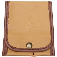 Pipe Accessories Claudio Albieri Italian Leather Accessory Pouch Tan/Russet