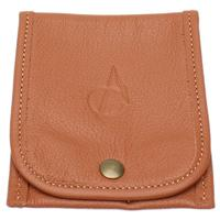 Pipe Accessories Claudio Albieri Italian Leather Accessory Pouch Russet
