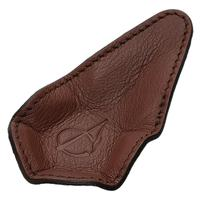 Stands & Pouches Claudio Albieri 1-Pipe Leather Magnetic Stand Chestnut