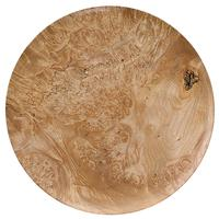 Pipe Accessories Scott Tinker 12.5 Inch Maple Burl Tobacco Plate