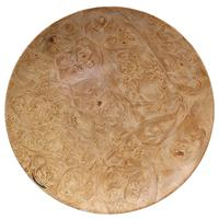 Pipe Accessories Scott Tinker 7 Inch Maple Burl Tobacco Plate