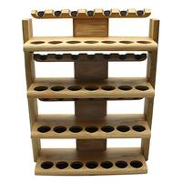 Pipe Accessories Neal Yarm 28 Pipe Four Tier Pipe Stand Oak