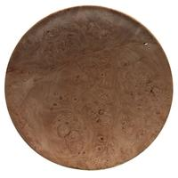 Pipe Accessories Scott Tinker 6 Inch Maple Burl Tobacco Plate