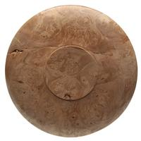 Pipe Accessories Scott Tinker 6 Inch Maple Burl Tobacco Plate