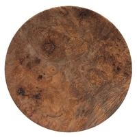Pipe Accessories Scott Tinker 6.5 Inch Maple Burl Tobacco Plate