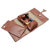 Pipe Accessories Chacom Leather and Canvas Two Pipe Roll