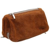 Pipe Accessories Savinelli Leather 2 Pipe and Tobacco Bag - Rust