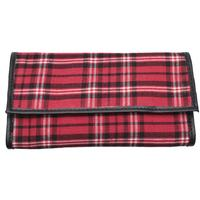 Pipe Accessories Castleford Roll Up Pouch Plaid