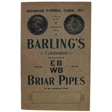 Books Barling's Celebrated Briar Pipes
