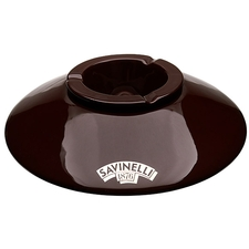 Ashtrays Savinelli Ceramic Brown Deco Ashtray