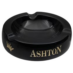 Ashtrays Ashton Small Black Ashtray