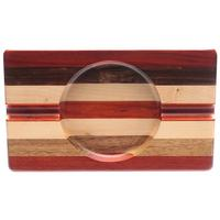Ashtrays Deluxe Multi-Wood Cigar Ashtray