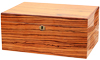 Humidors & Travel Cases Savoy Zebrawood Large Humidor