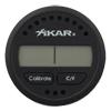 Cigar Accessories Xikar Round Digital Hygrometer Thermometer