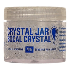 Cigar Accessories Brigham Crystal Jar 70% Humidifications 2oz