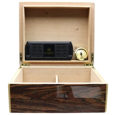 Humidors & Travel Cases Savoy Black Calabash Small