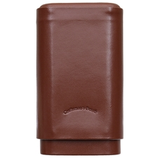 Cigar Accessories Craftsman's Bench Cigar Case Robusto Tan