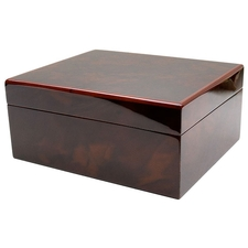 Cigar Accessories Savoy Walnut Small Humidor