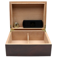 Cigar Accessories Savoy Walnut Medium Humidor