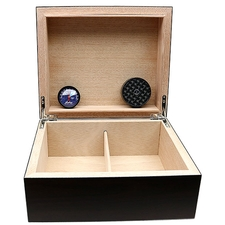 Cigar Accessories Brigham Equinox Walnut Humidor