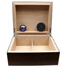 Cigar Accessories Brigham Equinox Mahogany Humidor