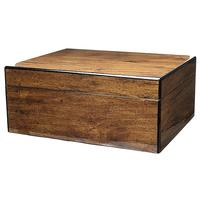 Cigar Accessories Savoy Mesquite Medium Humidor