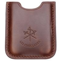 Cigar Accessories Les Fines Lames Leather Cigar Stand Tan
