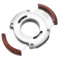 Cutters & Accessories Xikar XO Cutter Silver Redwood