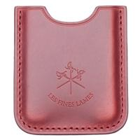 Cutters & Accessories Les Fines Lames Leather Cigar Stand Red